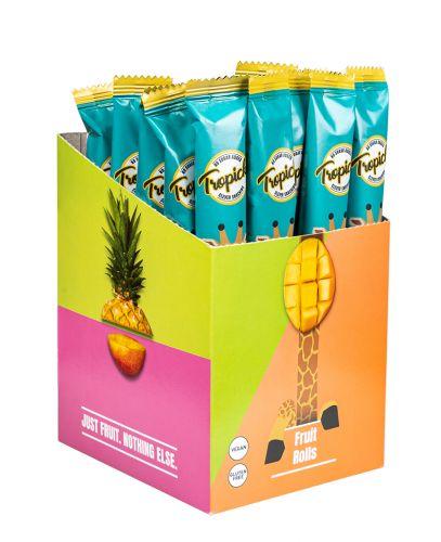 Džiovintų Ananasų Lazdelės Iš 100% vaisių, 30vnt Dėžutėje