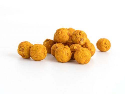 Džiovintų Mangų - Pasiflorų Kamuoliukai, 8vnt Dėžutėje