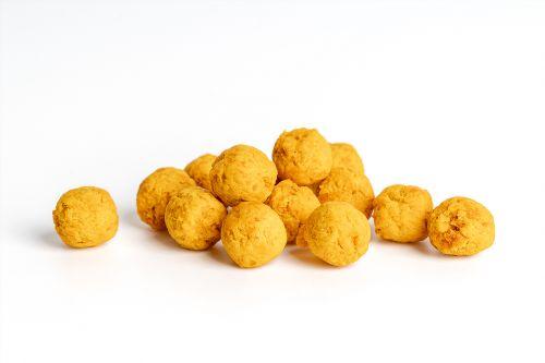Džiovintų Mangų - Pasiflorų Kamuoliukai