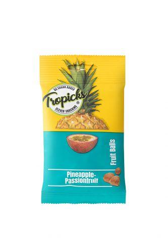 Džiovintų Ananasų - Pasiflorų Kamuoliukai, 8vnt Dėžutėje